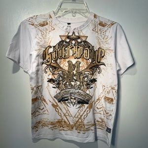 4/$25 SOUTHPOLE GRAPHIC WHITE SHORT SLEEVE T SHIRT